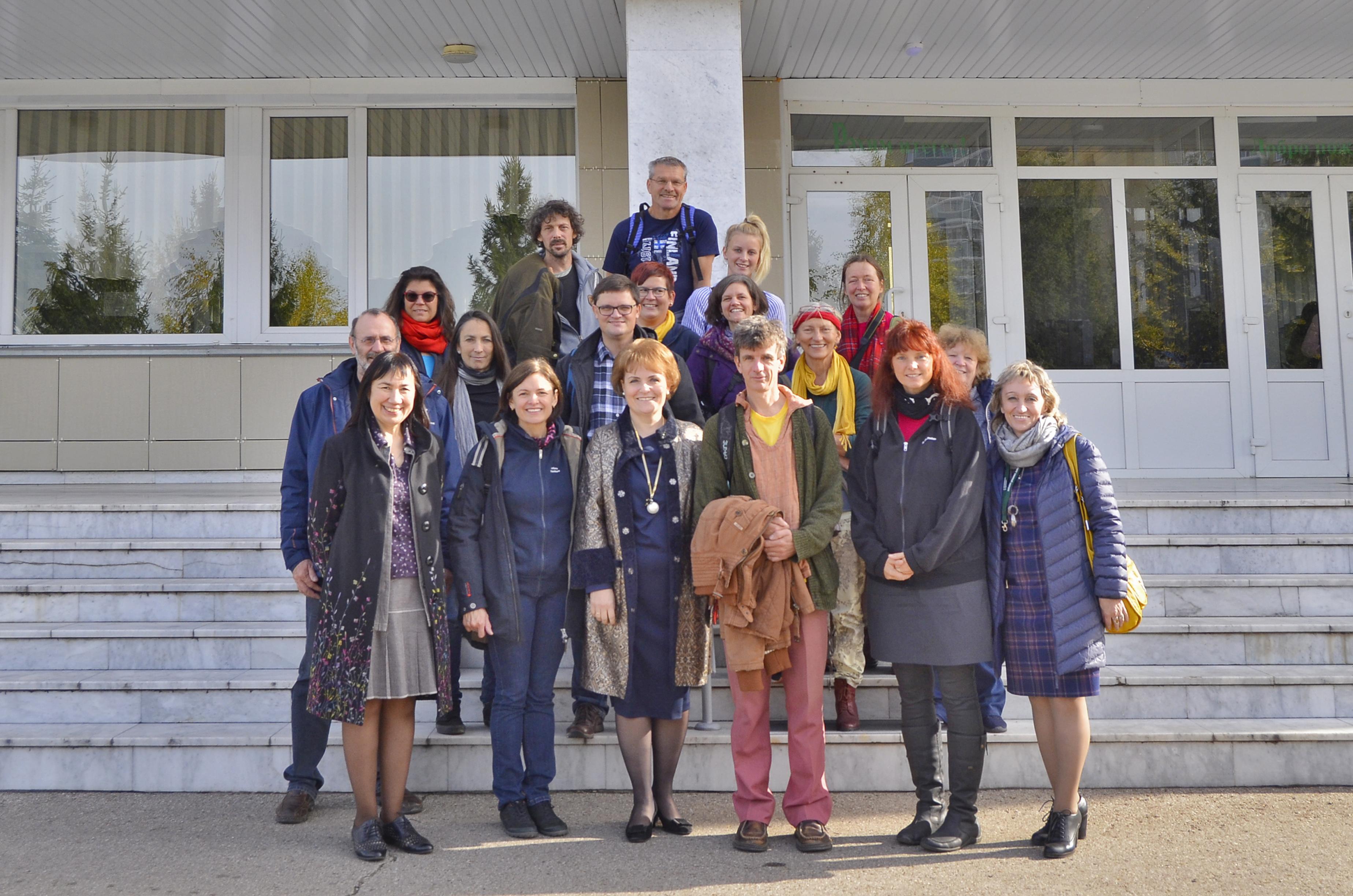 Педагоги из Германии ознакомились с работой педагогов НГПУ