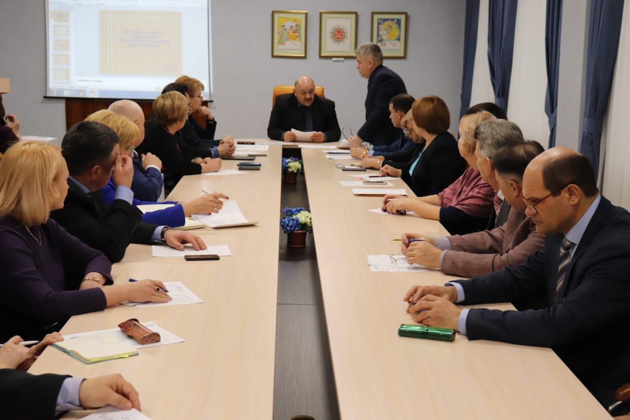 Руководители учреждений высшего и средне - профессионального  образования города обсудили проблемы организации профориентационной работы в образовательных учреждениях